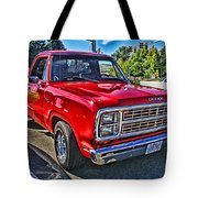 Little Red Express Hdr Tote Bag