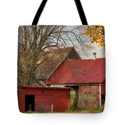 Little Red Farm Tote Bag