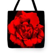 Little Red Flower ... Tote Bag