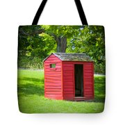 Little Red Three-seater Tote Bag