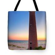 Little Sable Point Light Station Tote Bag