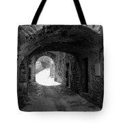 Little Street La Roche Alba Ardeche France Tote Bag