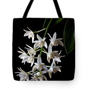 Little White Orchids Tote Bag