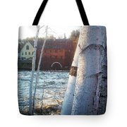 Littleton On The Ammonoosuc Tote Bag