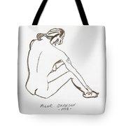 Live Nude Female No. 33 Tote Bag