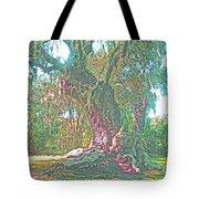 Live Oak On The Teche Tote Bag