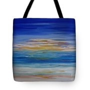 Lively Seascape Tote Bag