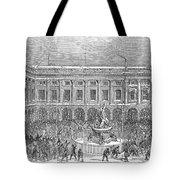 Liverpool Exchange, 1854 Tote Bag