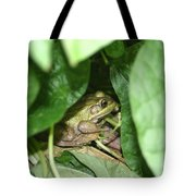 Lives With The Green Beans Tote Bag