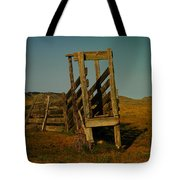 Livestalk Loader In South Dakota Tote Bag