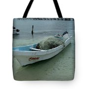Living On The Coast Tote Bag