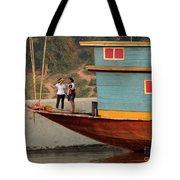 Living On The Mekong Tote Bag