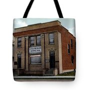 Livingston Manor Ny - National Bank Tote Bag