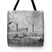 Livingstone: Steam Launch Tote Bag by Granger