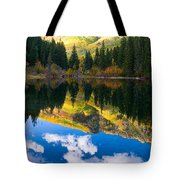Lizard Lake Reflections Tote Bag