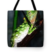 Lizard With Oil Painting Effect Tote Bag