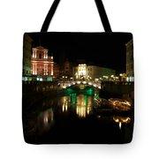 Ljubljana By Night Tote Bag