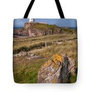 Llanddwyn Rock Tote Bag