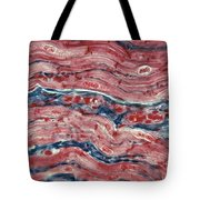 Lm Of Cardiac Muscle Tote Bag