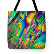 Lm Of Tartaric Acid Crystal Tote Bag