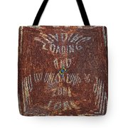 Loading And Unloading Zone Tote Bag