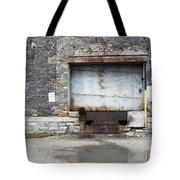 Loading Dock Door 1 Tote Bag