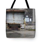 Loading Dock Door 2 Tote Bag