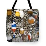 Lobsta Snow Net Tote Bag