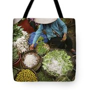 Local Farmers Selling Their Crop Tote Bag