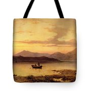 Loch Etive From Bonawe In The Evening Tote Bag
