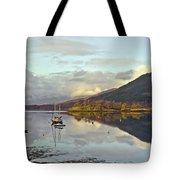 Loch Leven Moorings Tote Bag
