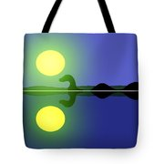 Loch Ness Sunrise Tote Bag