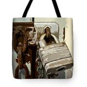 Lock And Chain Tote Bag