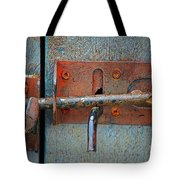 Lock And Latch Tote Bag