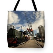 Loco On The Docks  Tote Bag