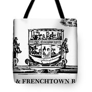 Locomotive, 1833 Tote Bag
