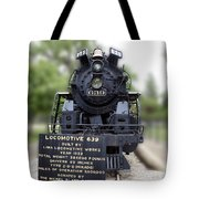 Locomotive 639 Type 2 8 2 Front View Tote Bag