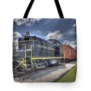 Locomotive II Tote Bag