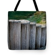Log Handrail Tote Bag