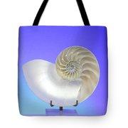 Logarithmic Spiral Tote Bag