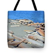 Logged Out Tote Bag