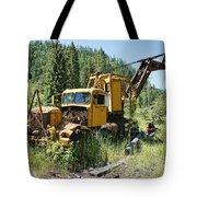 Logging Truck 2 - Burke Idaho Ghost Town Tote Bag