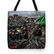 Logistics Specialist Wraps Cargo Nets Tote Bag