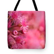 Lollypop Gum Tree Blossoms Tote Bag