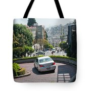 Lombard Street San Francisco Tote Bag