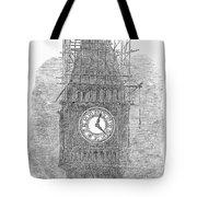 London: Big Ben, 1856 Tote Bag