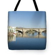 London Bridge And Reflection II Tote Bag