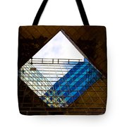 London Building Abstract Tote Bag