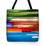 London Bus Motion Tote Bag