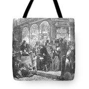 London: Christmas, 1866 Tote Bag